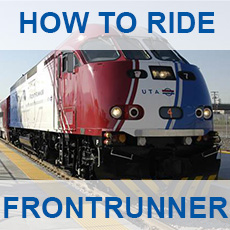 How to ride FrontRunner - click for more information