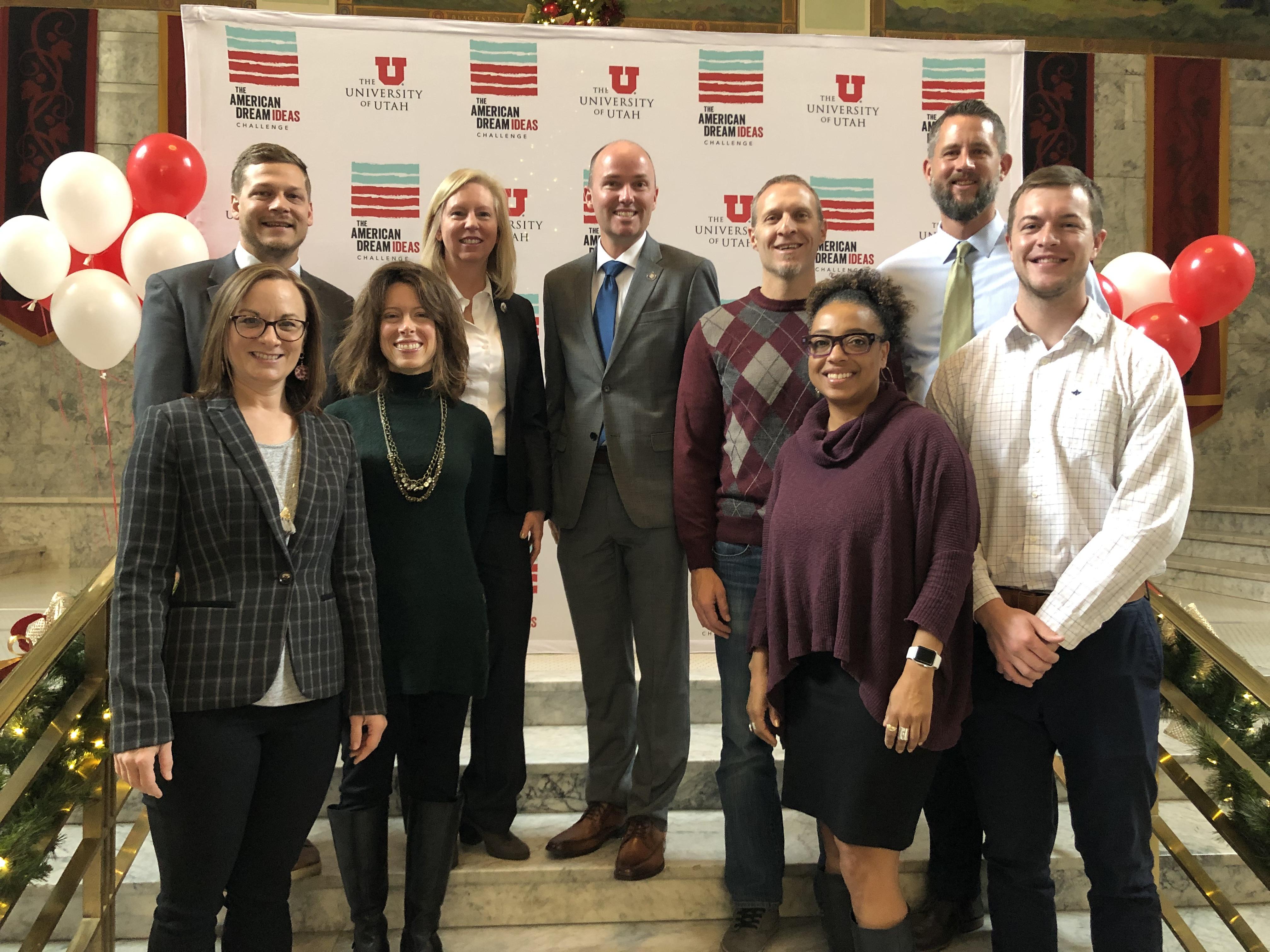 UTA Team Wins Round 2 American Dream Ideas Challenge